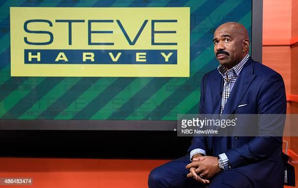 Steve Harvey appears on NBC News' Today show