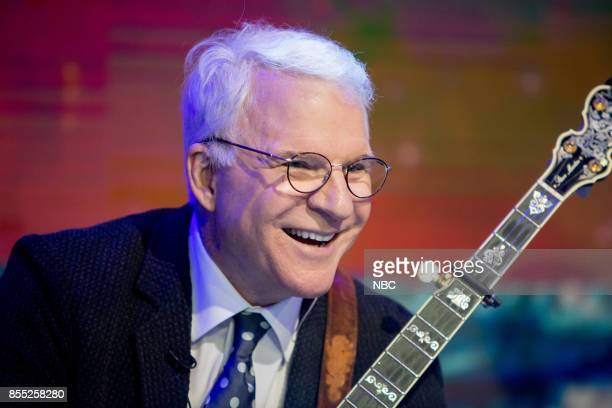 Steve Martin with Steep Canyon Rangers and TODAY anchors and staff on Thursday September 28 2017