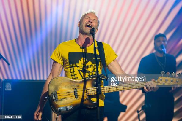 Sting on Wednesday April 24 2019