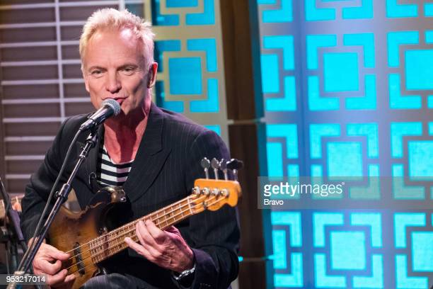 Pictured: Sting --
