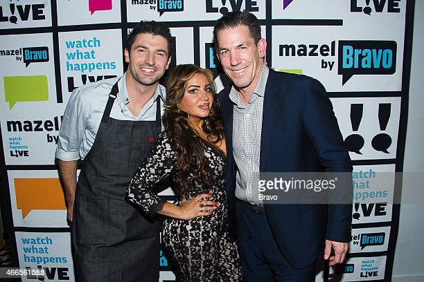 Stuart O'Keeffe Mercedes Javid and Thomas Ravenel