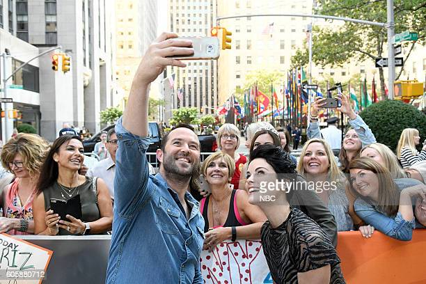 Sullivan Stapleton and Jaimie Alexander appear on NBC's TODAY show on Wednesday September 14 2016
