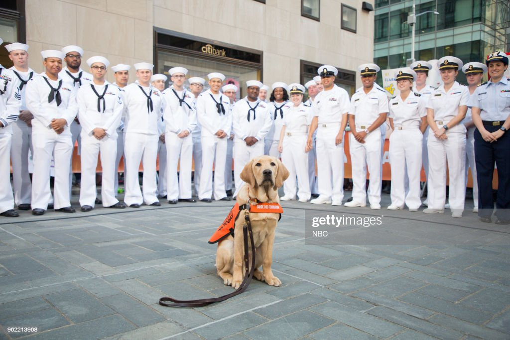 "NBC's ""TODAY"" With guests Jane Lynch, US Navy Sailors, Red Nose Day"