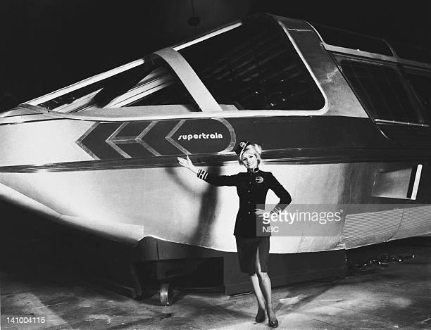 Supertrain hostess Rhonda Foxx on set Photo by Gary Null/NBCU Photo Bank