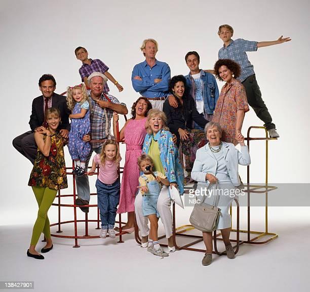 Pictured: Susan Norman as Susan Buckman Merrick, Ivyann Schwan as Patty Merrick, Thora Birch as Taylor Buckman, Zachary LaVoy as Justin Buckman,...