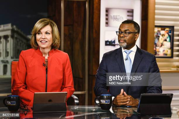 Susan Page Washington Bureau Chief USA TODAY and Eddie S Glaude Jr Chair of the Department for AfricanAmerican Studies Princeton University appear on...