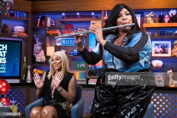 Pictured : Tamar Braxton and Lizzo --