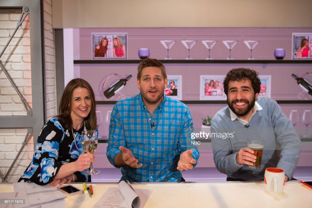 Tammy Filler, Curtis Stone and Gavin Shulman on Tuesday, Feb. 20, 2018 --