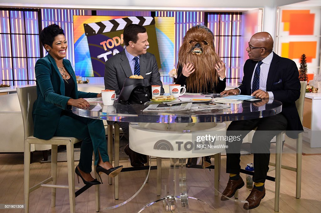 Tamron Hall, Willie Geist, Natalie Morales, and Al Roker appear on NBC News' 'Today' show --