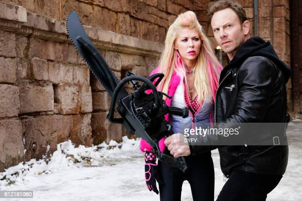 Tara Reid as April Shepard Ian Ziering as Fin Shepard
