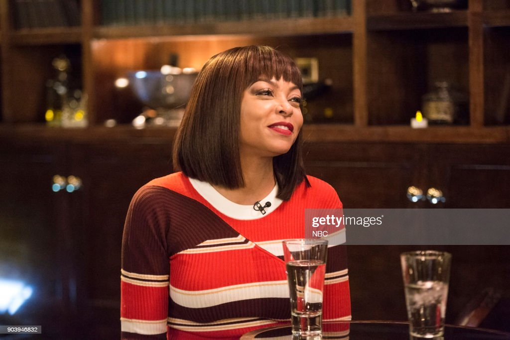 Taraji P. Henson on Jan. 14, 2018 --