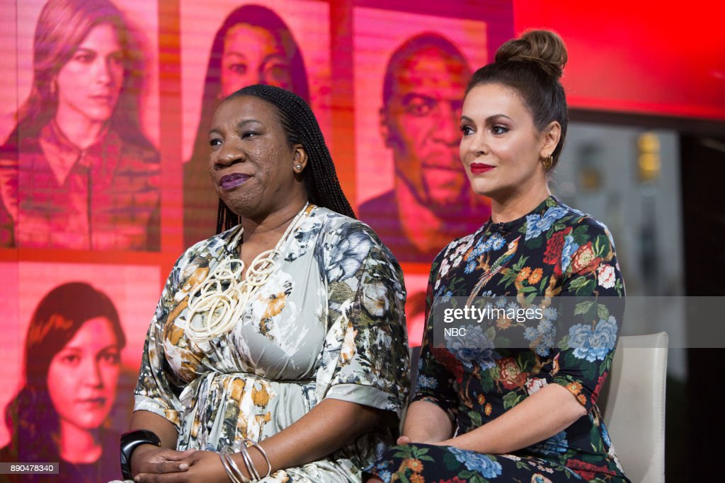 "NBC's ""Today"" with guests Alyssa Milano, Tarana Burke, Food, Barenaked Ladies"
