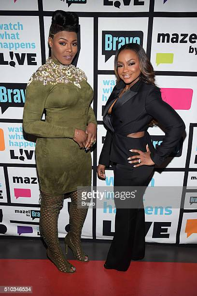 Ta'Rhonda Jones and Phaedra Parks