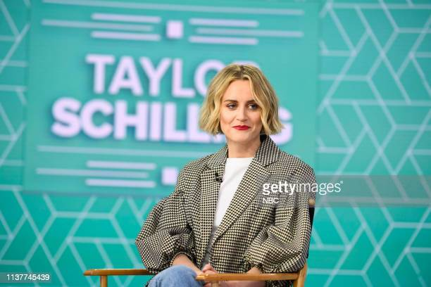 Taylor Schilling on Wednesday, April 17, 2019 --