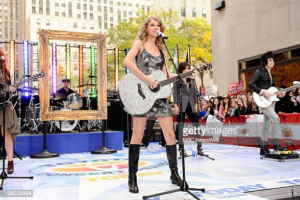 Taylor Swift performs on NBC News' 'Today' show