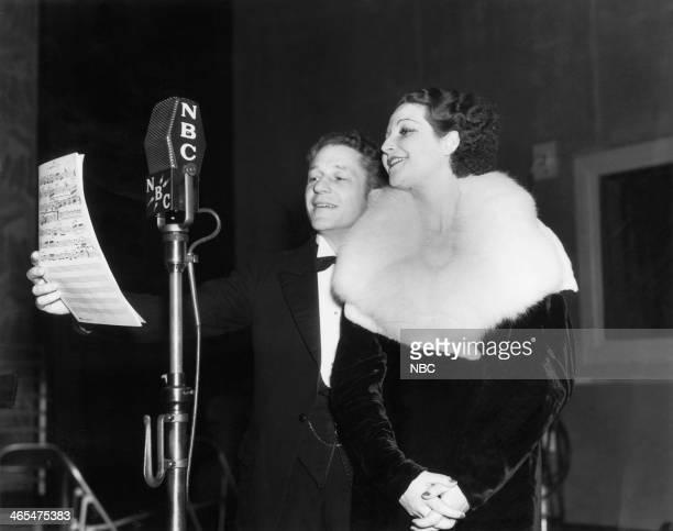 Tenor Pierre Le Kreeun opera singer Raquel de Carlay in 1934