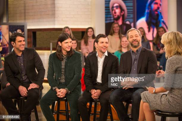 The Avett Brothers with Judd Apatow and Megyn Kelly on Friday January 26 2018