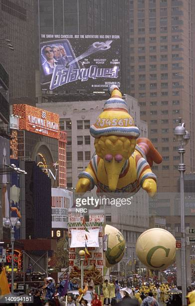 The Big Bird float during the 1999 Macy's Thanksgiving Day Parade Photo by Craig Blankenhorn/NBCU Photo Bank