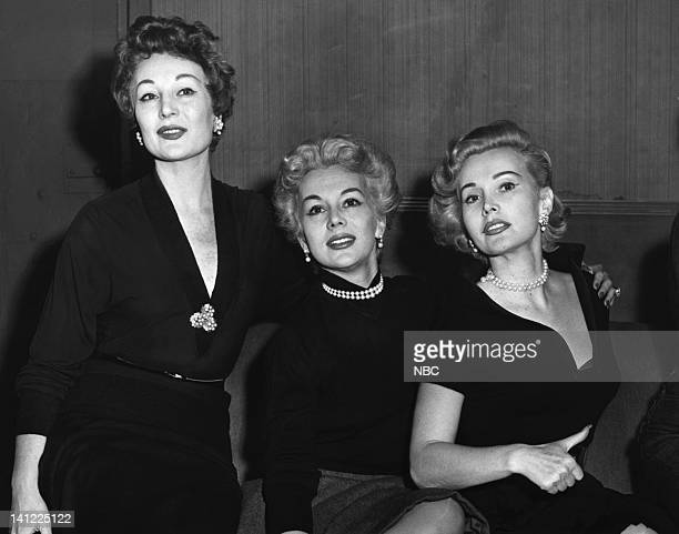 The Gabor Sisters Entertainer/socialite Magda Gabor actress Eva Gabor actress Zsa Zsa Gabor Photo by NBCU Photo Bank