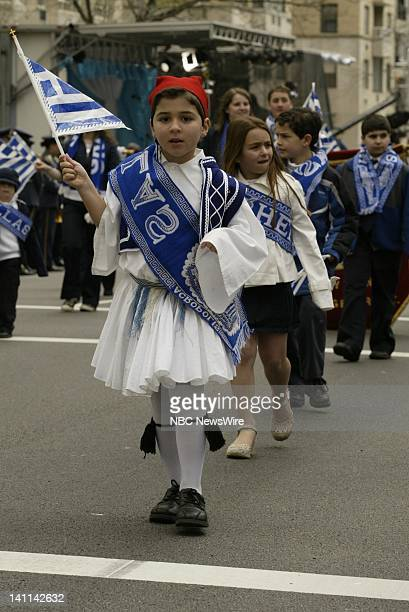 The Greek Independance Day Parade on Fifth Avenue in New York NY on April 6 2008 Photo by Curtis Means/NBC NewsWire