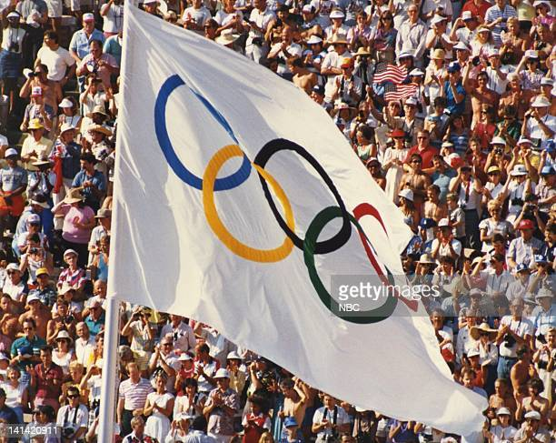 The Olympic Flag in Seoul South Korea Photo by NBCU Photo Bank