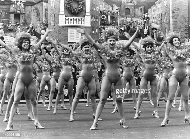 The Rockettes perform during the 1966 Macy's Thanksgiving Day Parade Photo by NBCU Photo Bank