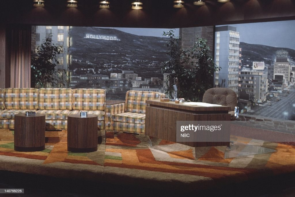 The Tonight Show Starring Johnny Carson : News Photo