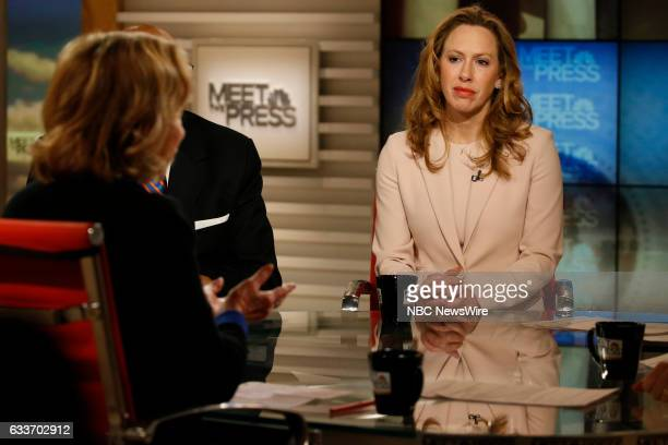 The Wall Street Journals Kimberley Strassel appears on Meet the Press in Washington DC Sunday Jan 29 2017