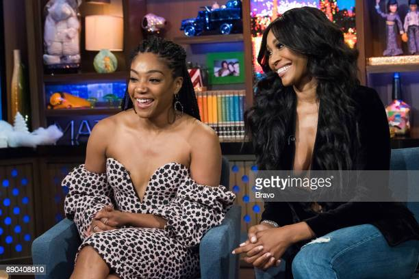 Tiffany Haddish and Cynthia Bailey