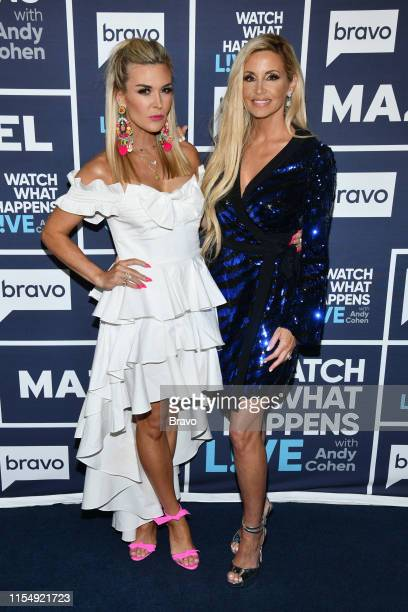 Pictured : Tinsley Mortimer and Camille Grammer --