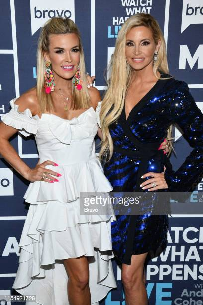 Tinsley Mortimer and Camille Grammer