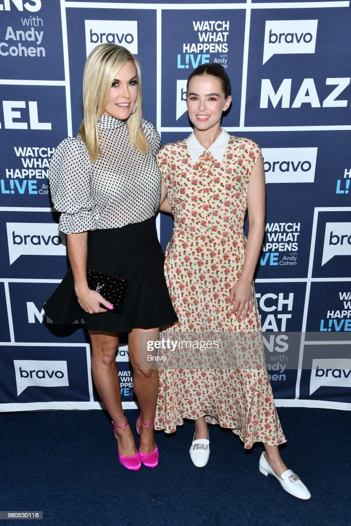 Tinsley Mortimer and Zoey Deutch --