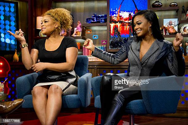 Tionne 'TBoz' Watkins and Tatyana Ali Photo by Charles Sykes/Bravo/NBCU Photo Bank via Getty Images