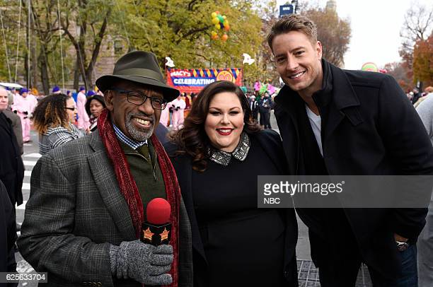 Today CoAnchor Al Roker Chrissy Metz and Justin Hartley from This Is Us