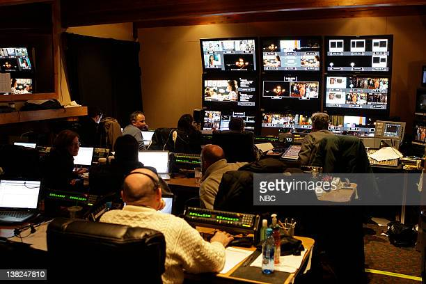TODAY show control room at Grouse Mountain