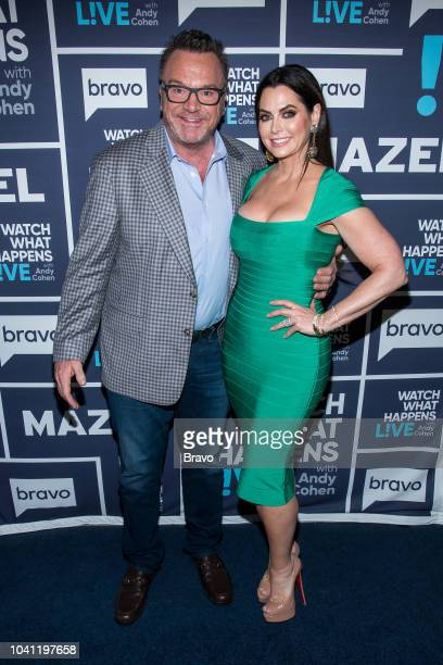 Tom Arnold and D'Andra Simmons