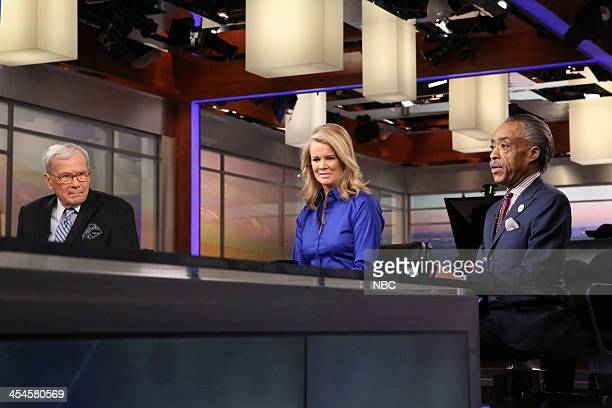 Tom Brokaw Katty Kay Rev Al Sharpton
