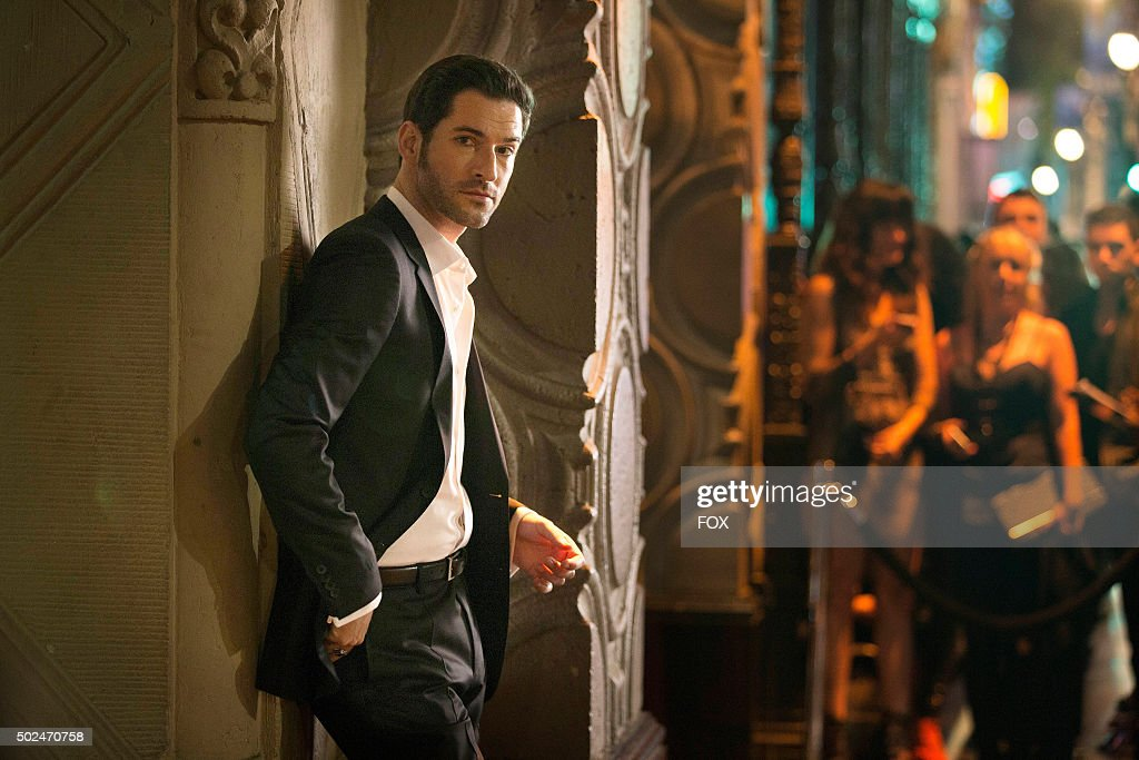 Tom Ellis as Lucifer.