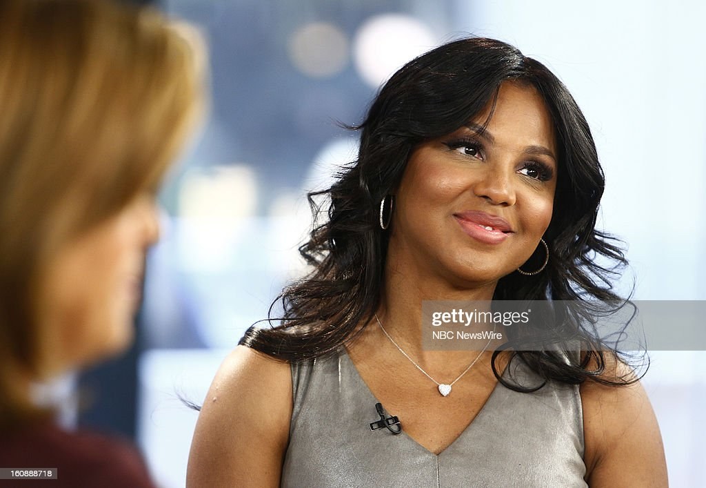 Toni Braxton appears on NBC News' 'Today' show --