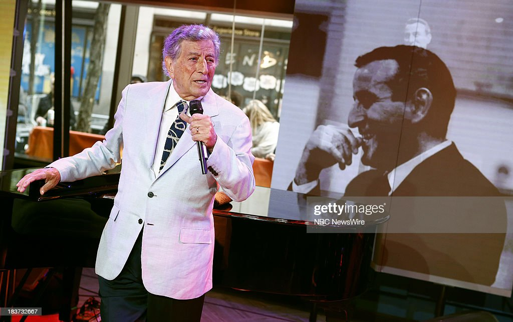 Tony Bennett appears on NBC News' 'Today' show --
