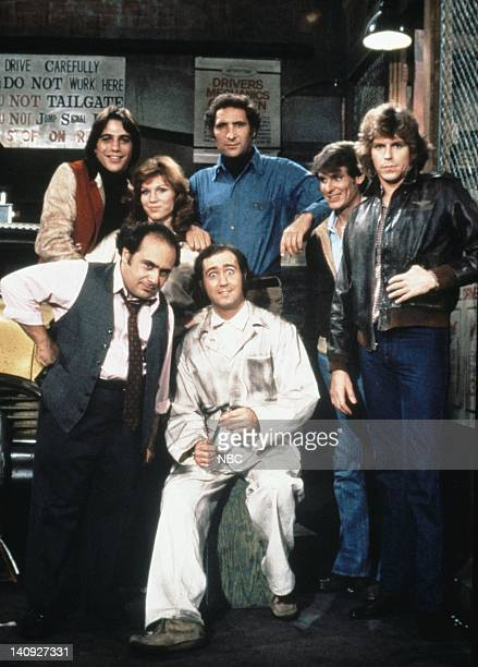 Tony Danza as Tony Banta Marilu Henner as Elaine O'ConnorNardo Judd Hirsch as Alex Reiger Randall Carver as John Burns Jeff Conway as Bobby Wheeler...
