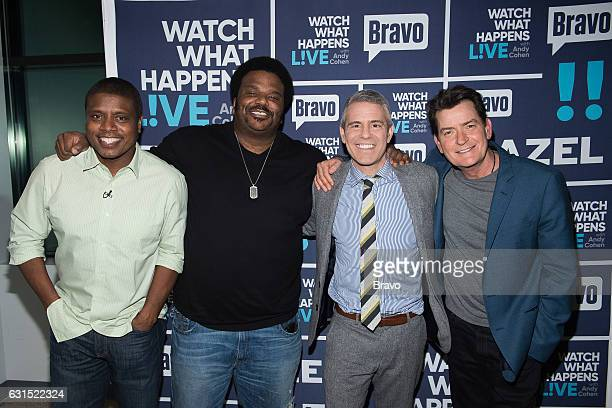 Tony Todd Craig Robinson Andy Cohen and Charlie Sheen