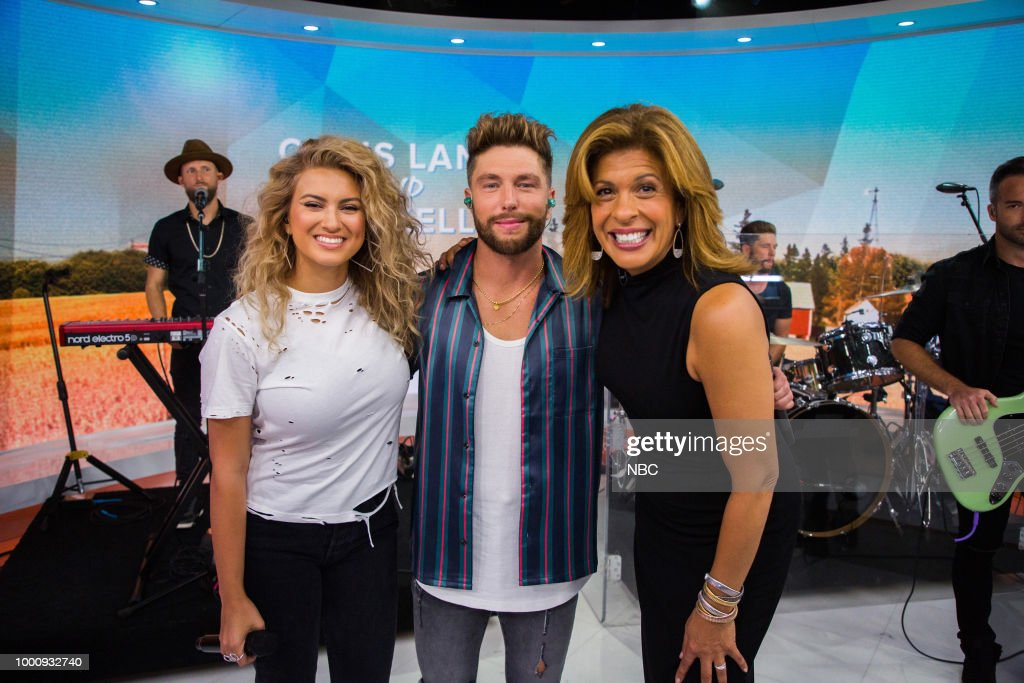 "NBC's ""TODAY"" with Tori Kelly, Chris Lane, Matt Abdoo, Jill Martin"