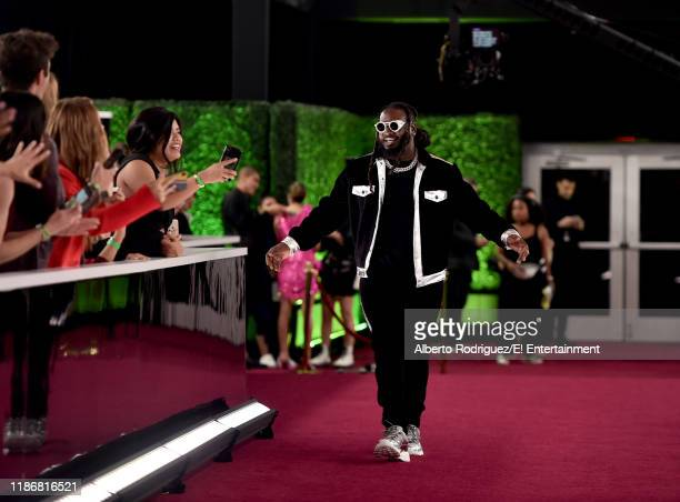 TPain arrives to the 2019 E People's Choice Awards held at the Barker Hangar on November 10 2019 NUP_188996