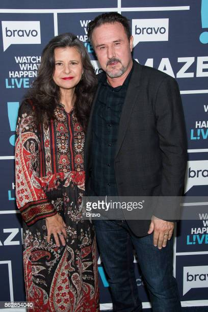 Tracey Ullman and David Arquette
