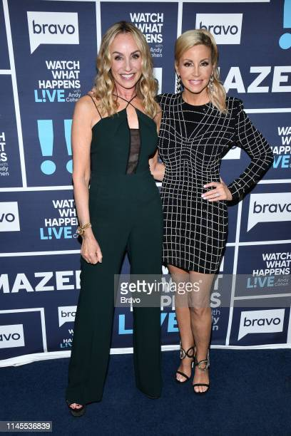 Pictured : Tracy Pollan and Camille Grammer --