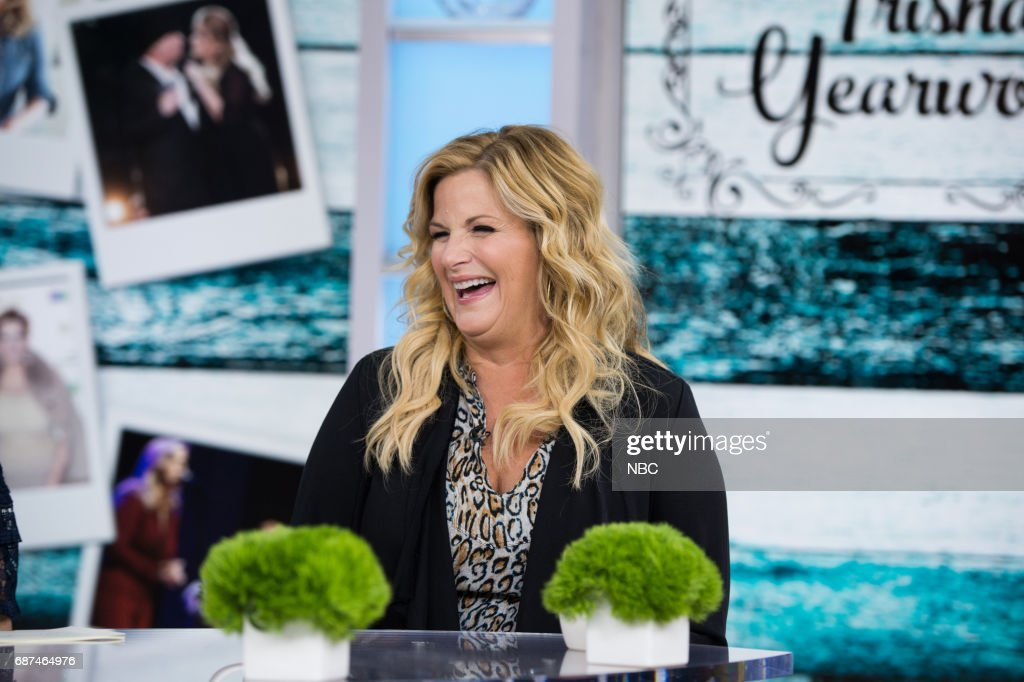 Trisha Yearwood on Tuesday, May 23, 2017 --