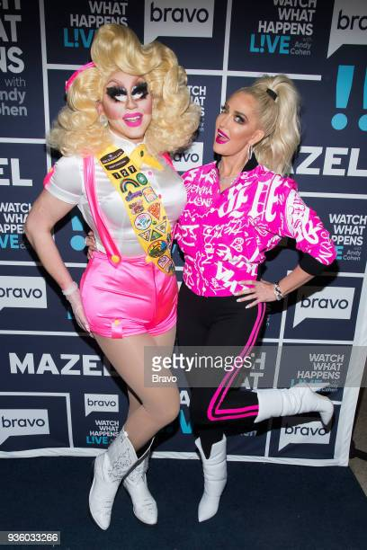 Trixie Mattel and Erika Jayne