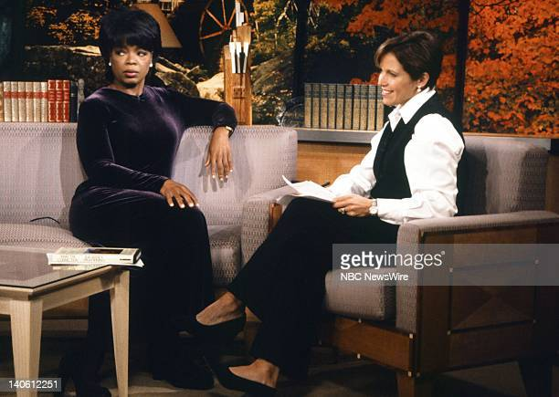 TV host Oprah Winfrey NBC News' Katie Couric on September 16 1996 Photo by Andrea Renault/NBC/NBC NewsWire
