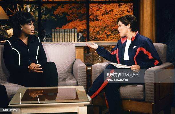 TV host Oprah Winfrey NBC News' Katie Couric on September 18 1996 Photo by Andrea Renault/NBC/NBC NewsWire